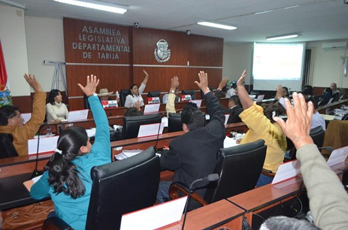 Asambleísta por Tarija, denuncia que instituciones nacionales son financiadas con recurso departamental