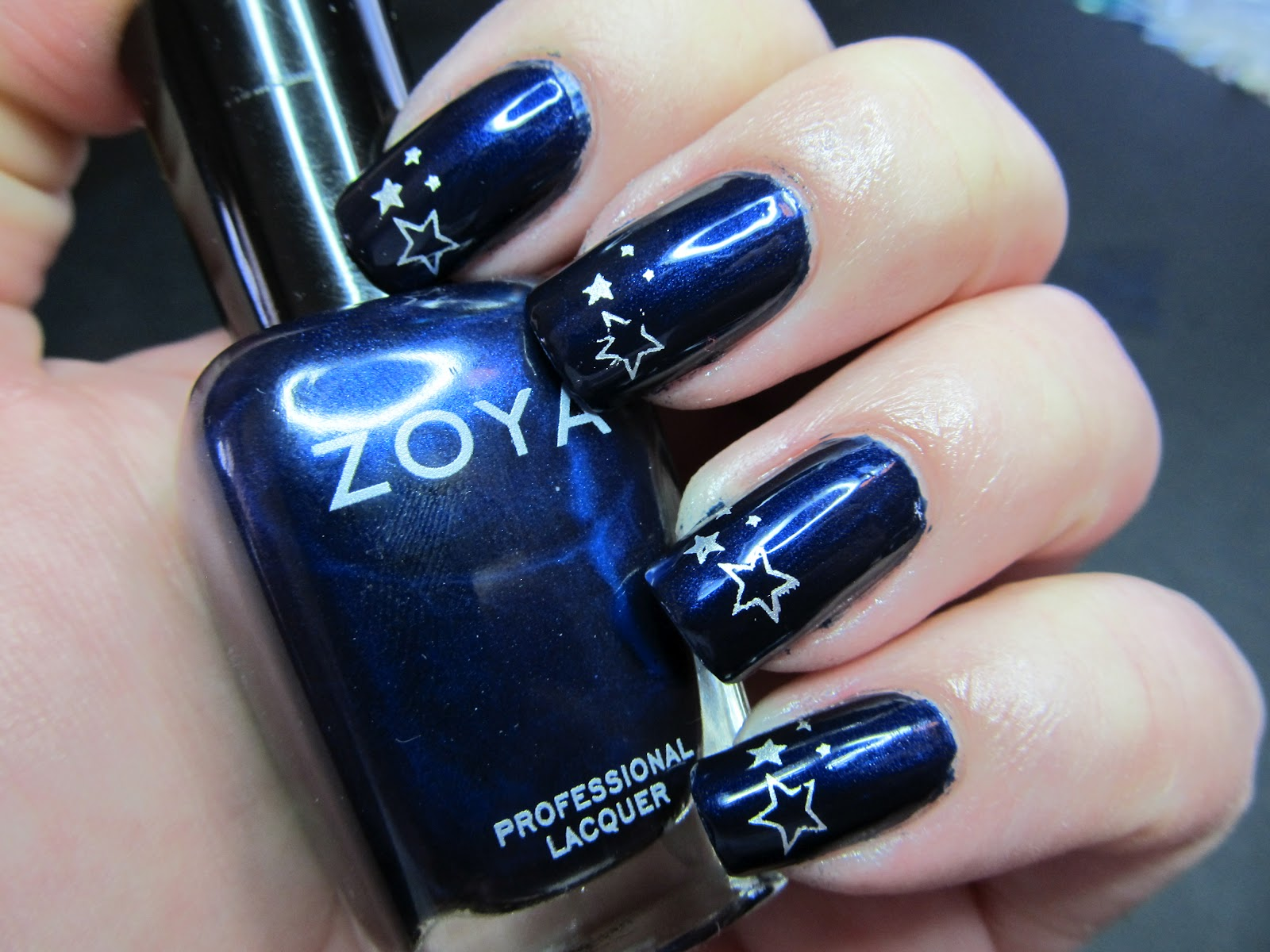 Zoya Ibiza - my kind of blue - Set in Lacquer
