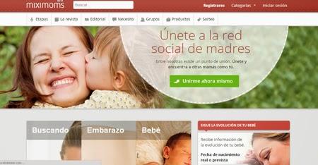 Descubre y participa en la red social para madres de Miximoms