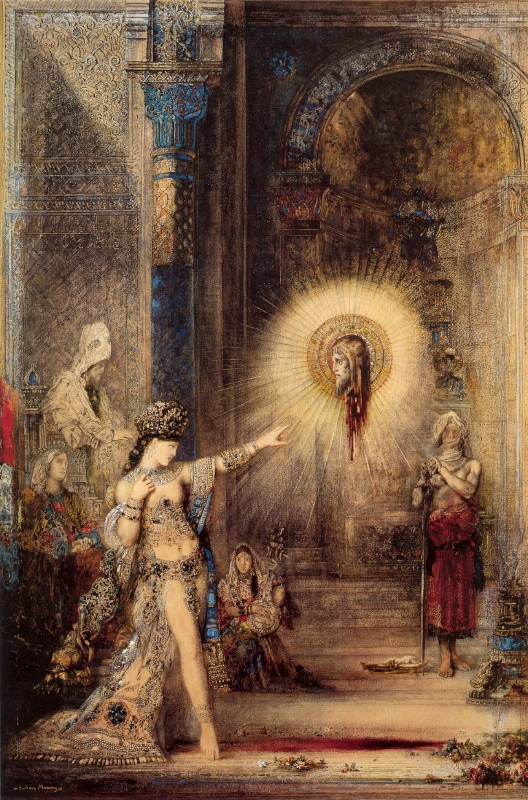 moreau salome apparition