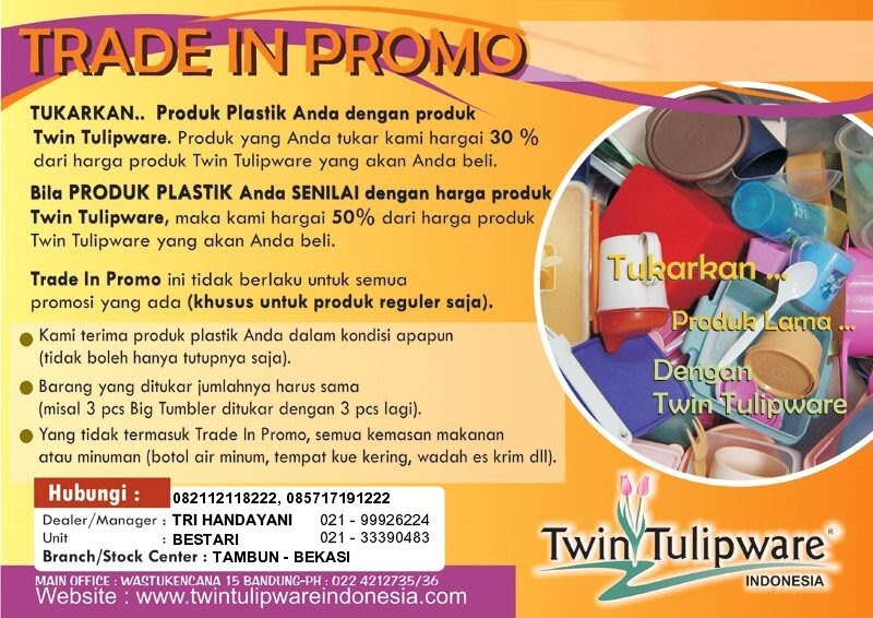 trade in promo produk plastik & metal