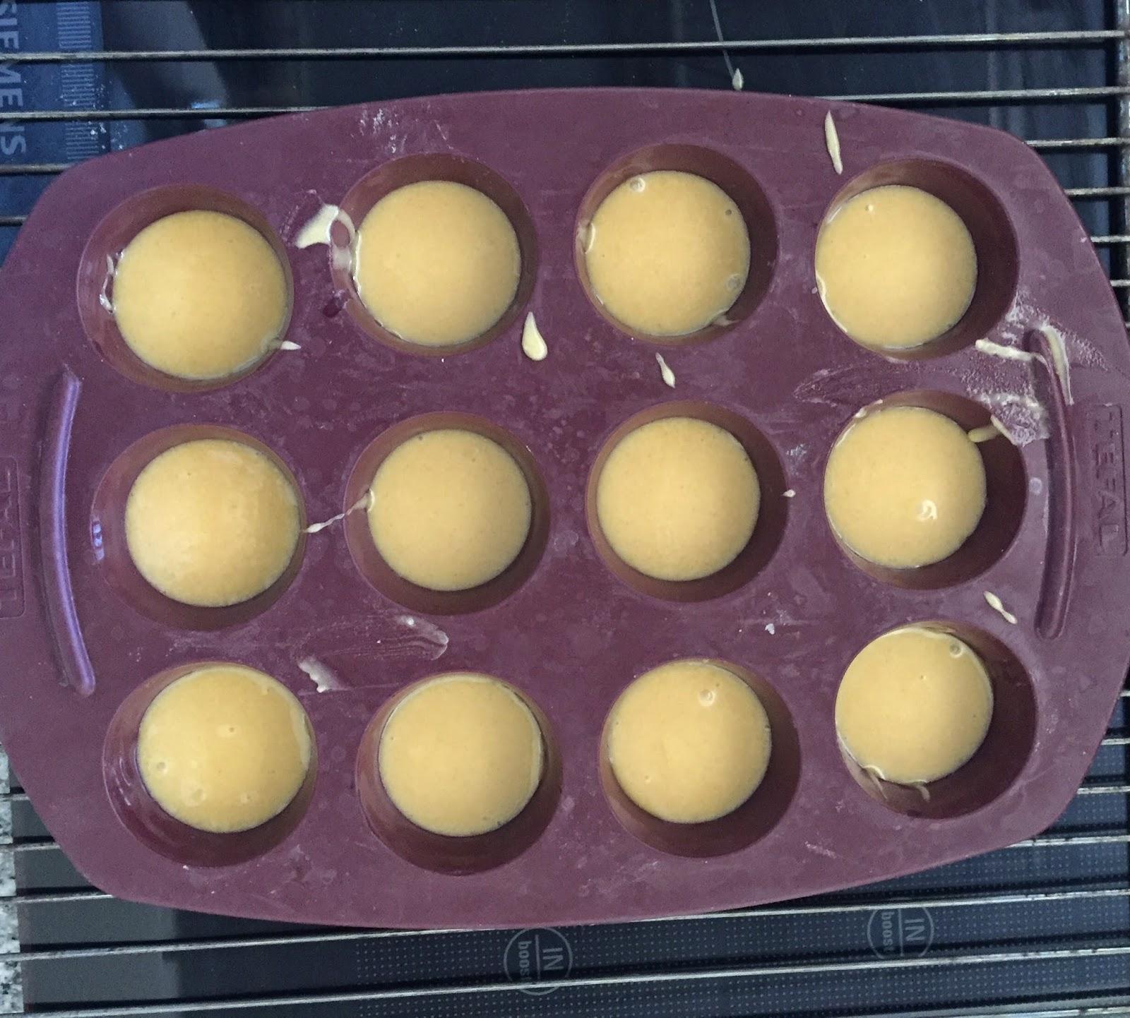 Mini cakes au caramel d'après Christophe Michalak