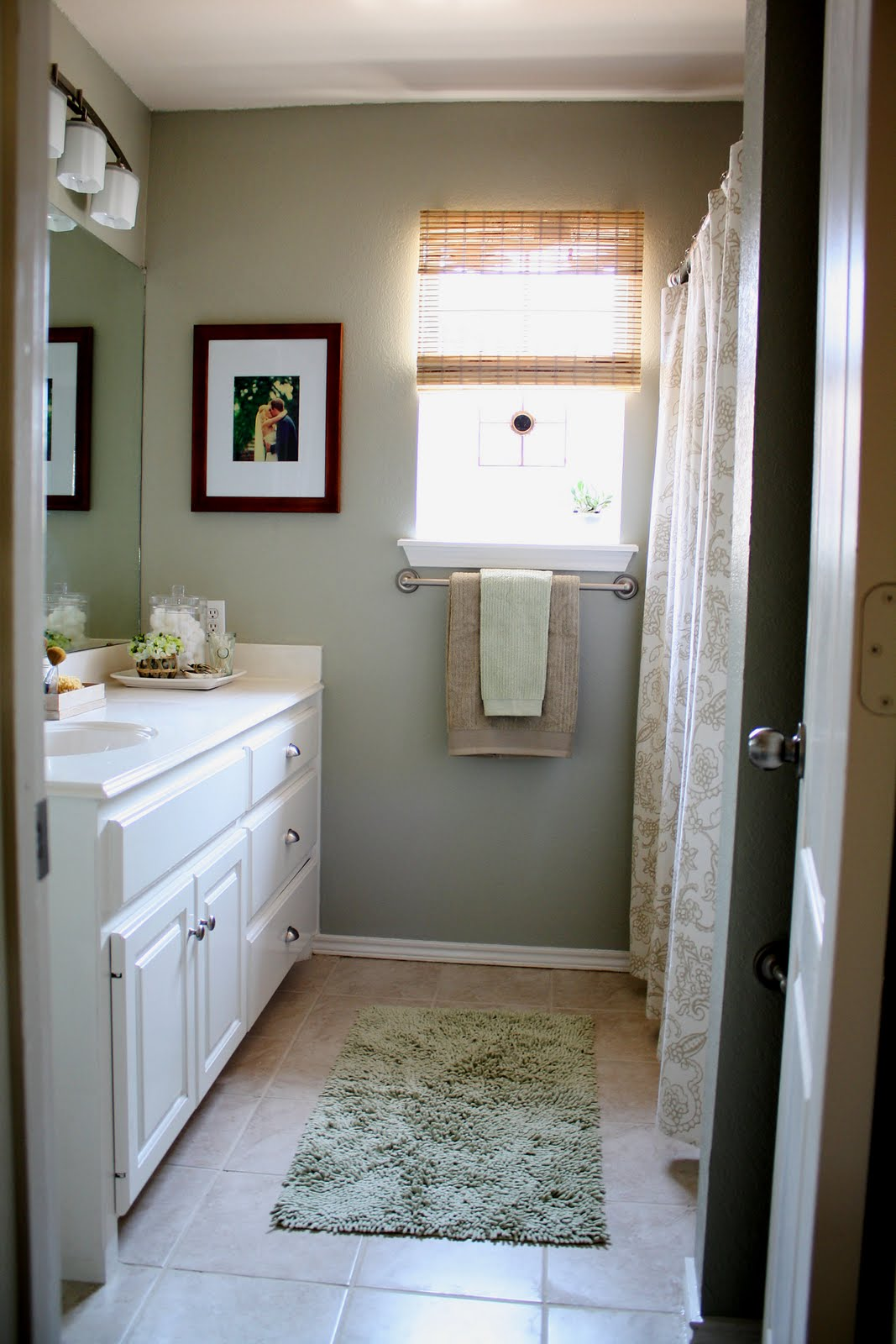 Remodelaholic new and improved master bathroom for Master bathroom paint colors