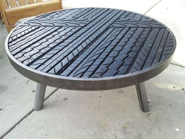 Reaproveitamento de pneus