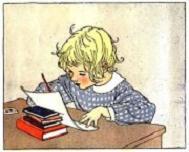 inglés para niños doing homeworl