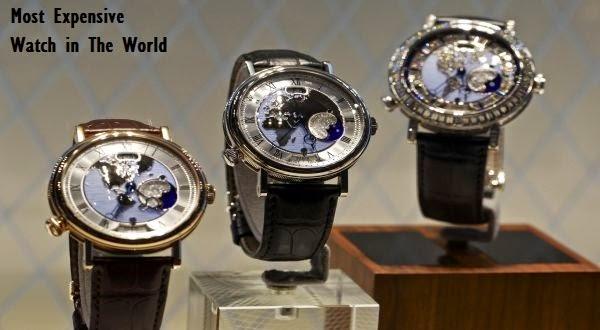 Jam Tangan Mewah Dengan Harga Termahal di Dunia
