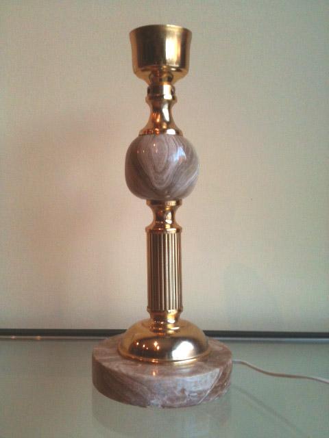 Lamparas de mesa - Como hacer una lampara de pie artesanal ...