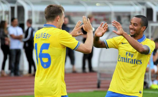 Ramsey and Walcott