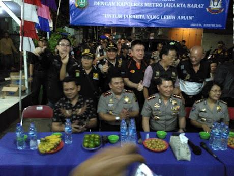 Kapolres Jakarta Barat -  Kombes Pol Royche Harry Langie, Sik,Mh = setijab 20160804