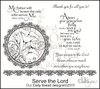 Our Daily Bread Designs - Stamps Serve The Lord