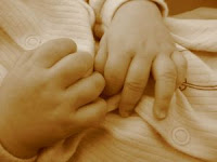 Baby hands. Stock Photo credit: lraine