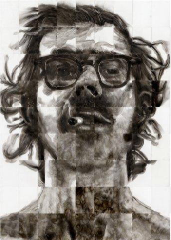 steven spazuk soot art ilustracoes fuligem fogo cinzas