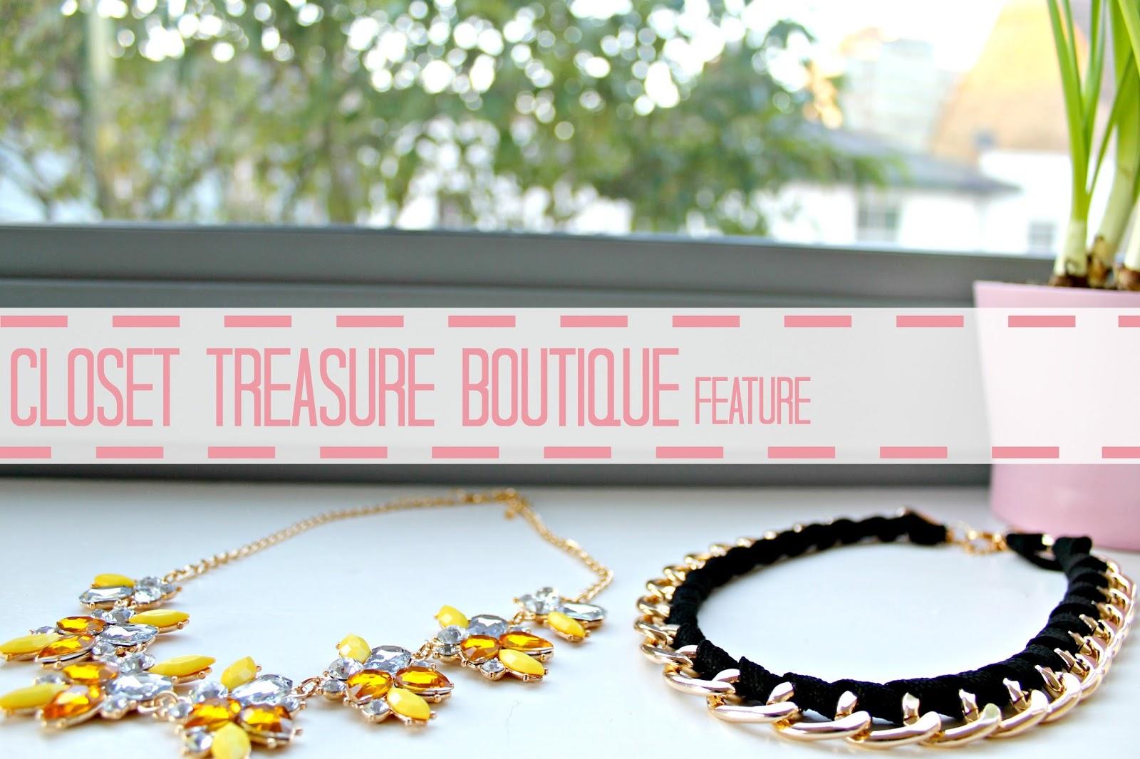 A feature about closet treasure boutique