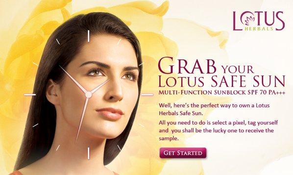 Free Sample of Lotus herbals safe sunscreen