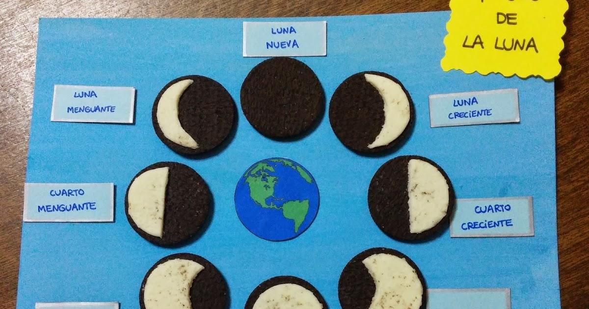 Biblioteca uniovi fases de la luna con galletas oreo for Un cuarto con luna facebook