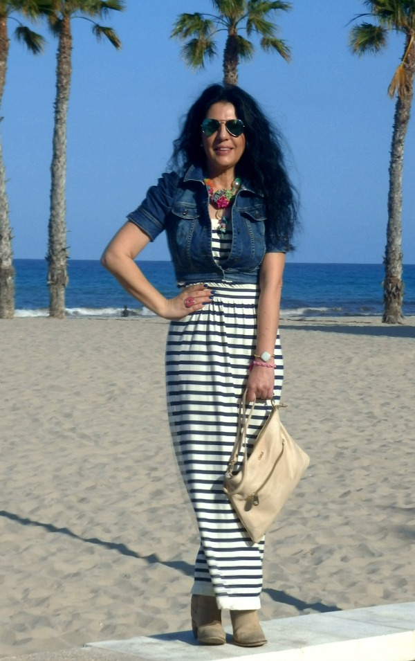 perfect striped dress
