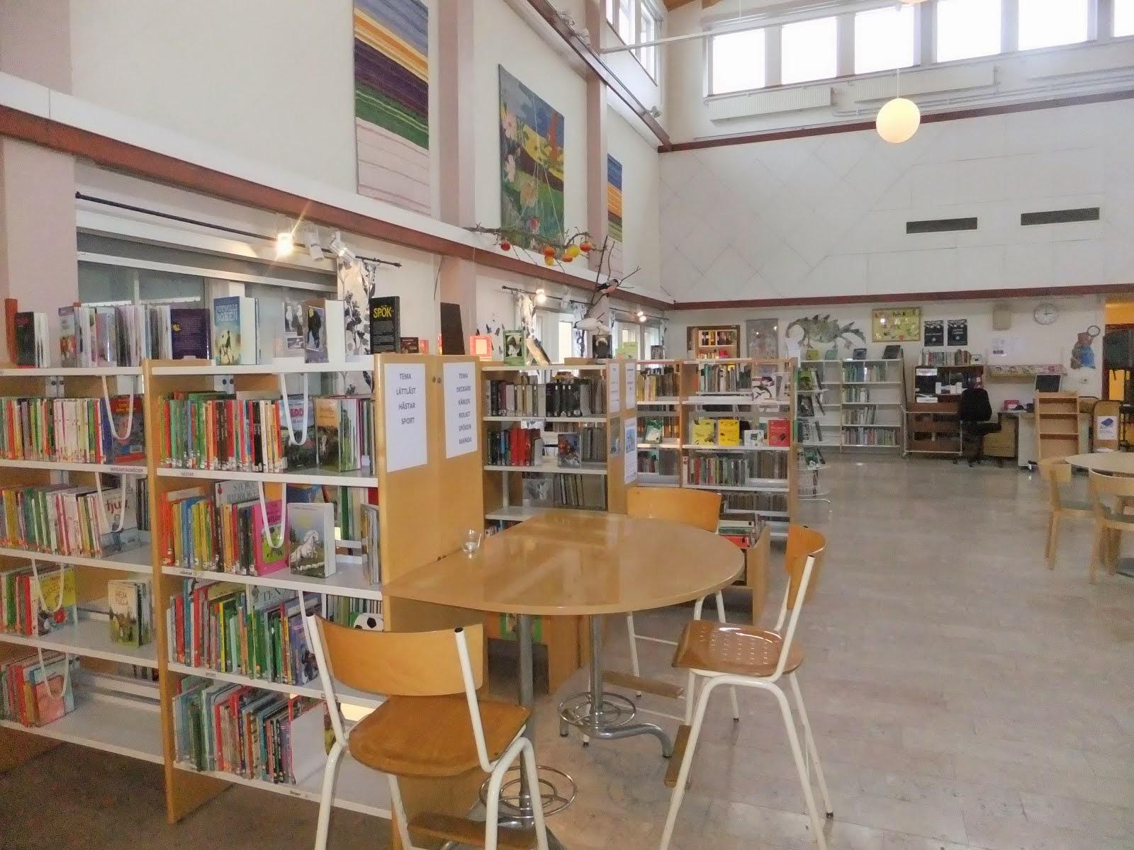 Dansäterskolans fokusbibliotek