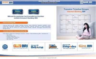 Informasi Perubahan Desain dan Penambahan Fitur Internet Banking BRI 2015