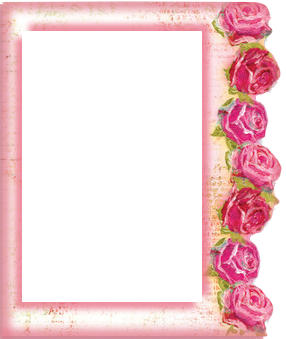 free printable frames with roses