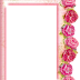 Free Printable Frames with Roses.