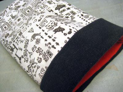 Finished Kindle bag