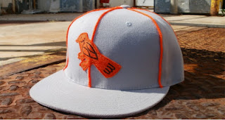 1944 Baltimore Orioles ( IL) Custom Fitted Cap