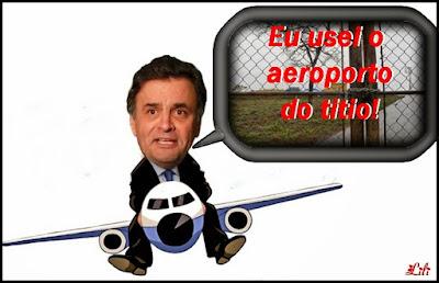 Virou abelha: Aécim passou mais tempo voando e fazendo cera que governando Minas