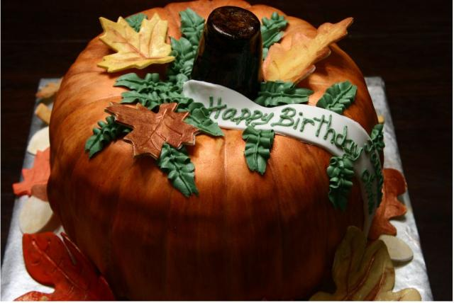 Pumpkin birthday cake decorating ideas