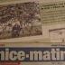 Anne de Harlez al diari Nice Matin
