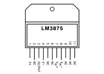 LM3875-High Audio Amplifier 56W
