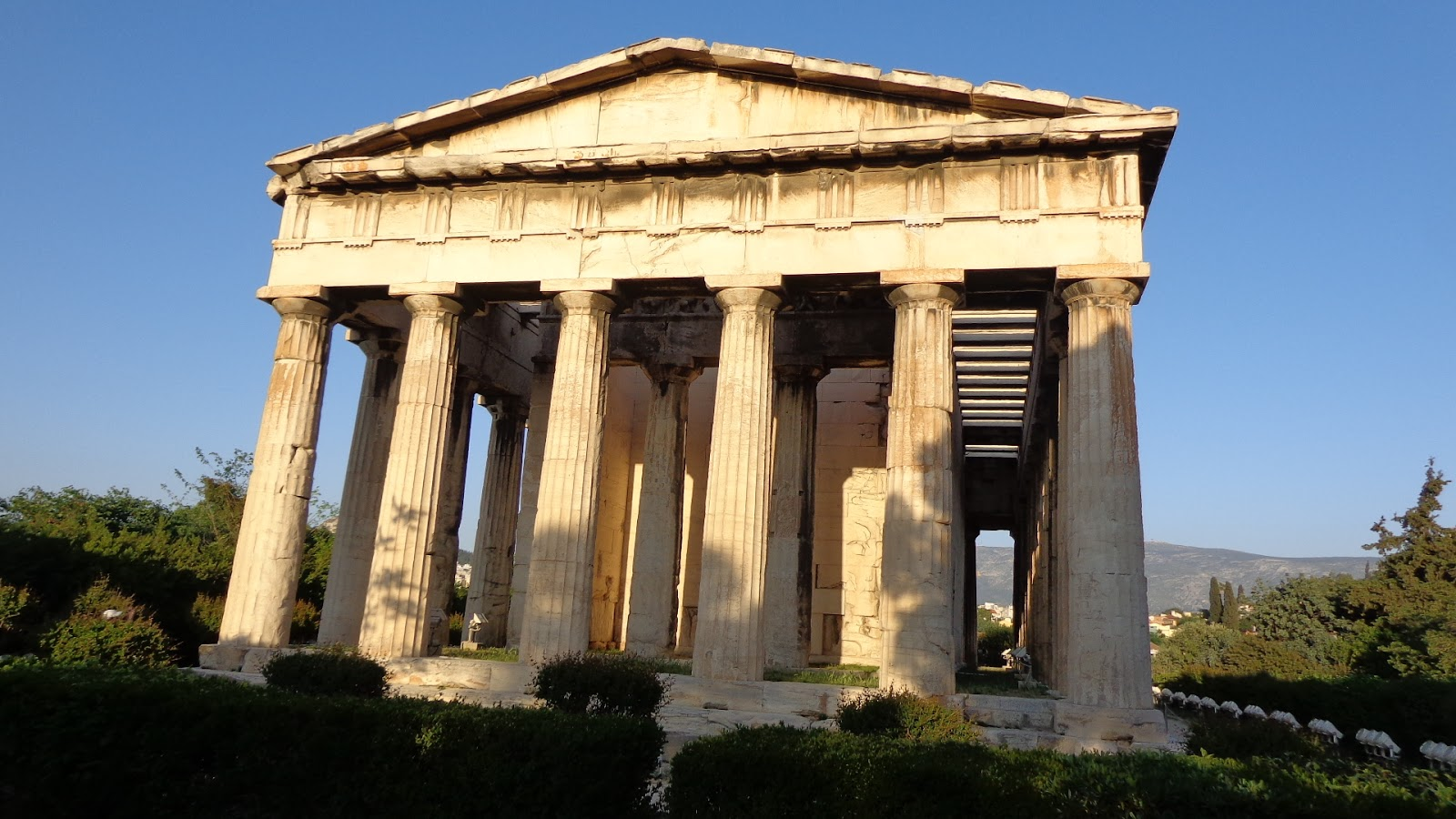 The Thrifty Gypsys Travels : Temple of Hephaestus ...