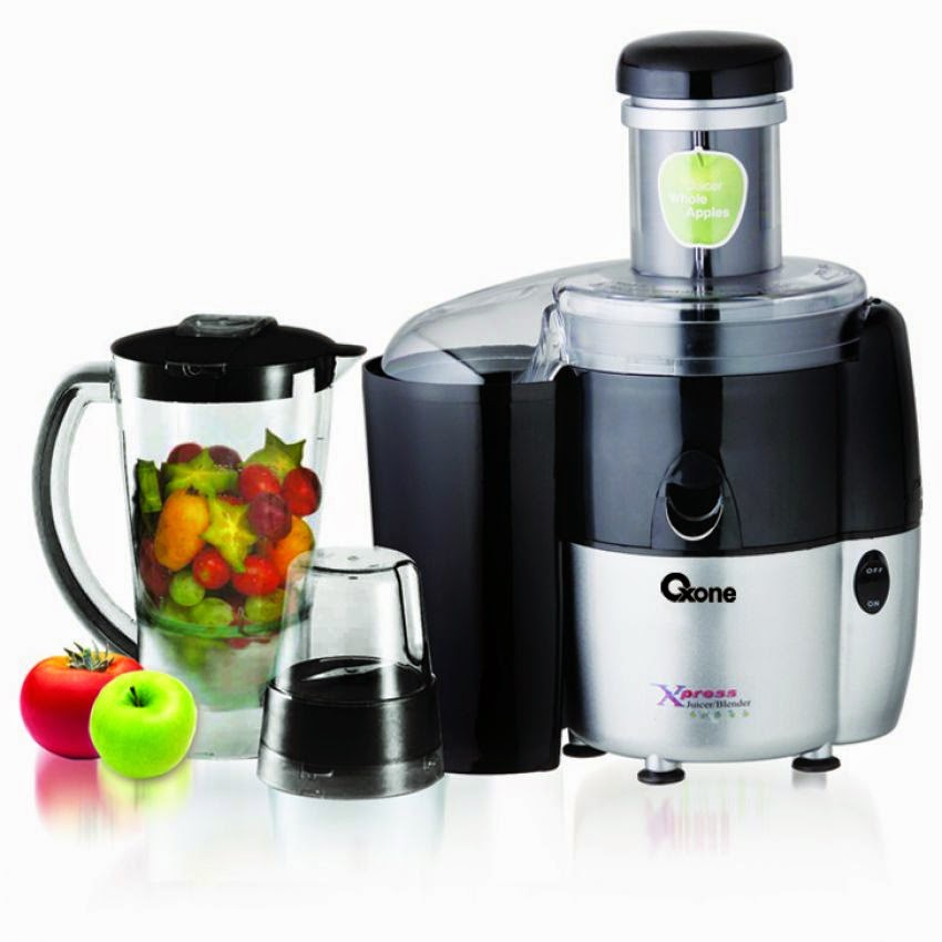 Oxone Express Juicer Blender OX 869PB Chopper Pengalus
