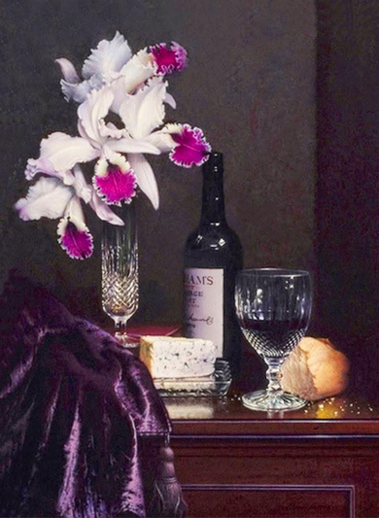 jarrones-hiperrealista-flores-al-oleo