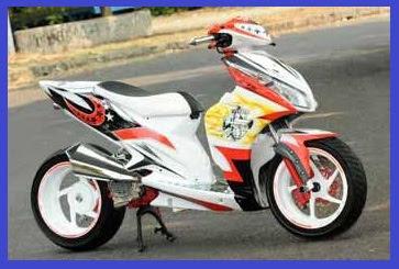 Motor Berikut Gambar Foto Modifikasi Motor Terbaru Honda Vario Techno