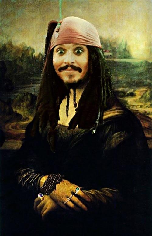 Mona Lisa Paintings Funny Joke Pictures
