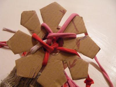 Die bommelfrau basteln mit kindern kn pfstern for Kindergarten weihnachtsbasteln