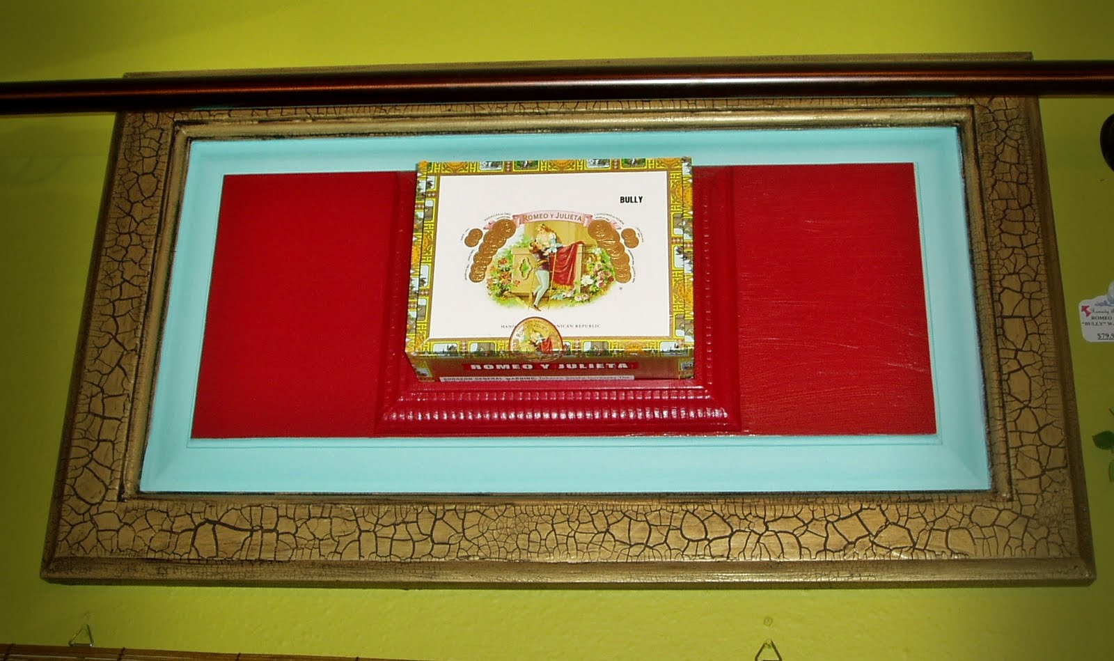 Cigar Box Wall Art Cigar Box Wall Hanging