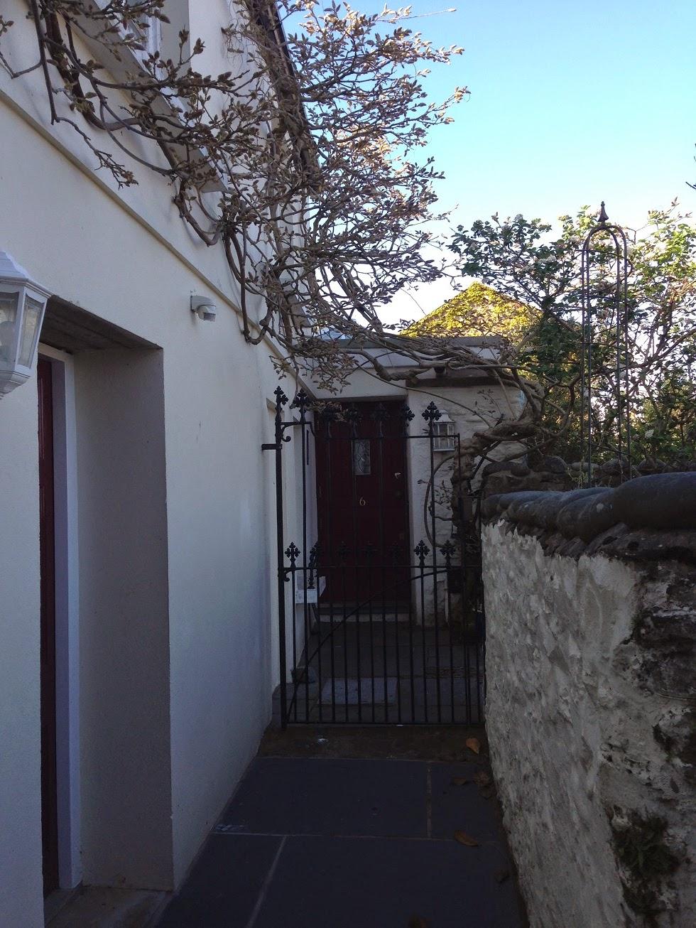 Gate and door, Appledore, Devon