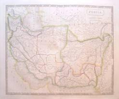نقشه مستقل بلوچستان در سال 1828 م