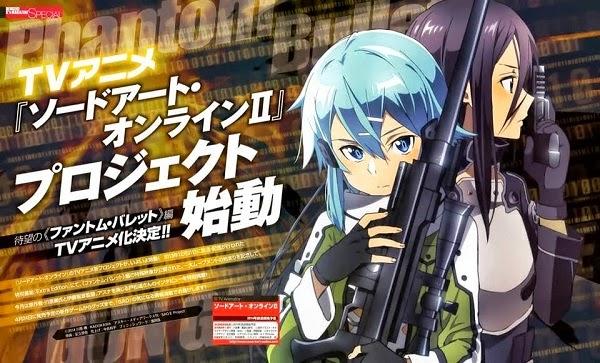Sword Art Online II Gun Gale Online Phantom Bullet