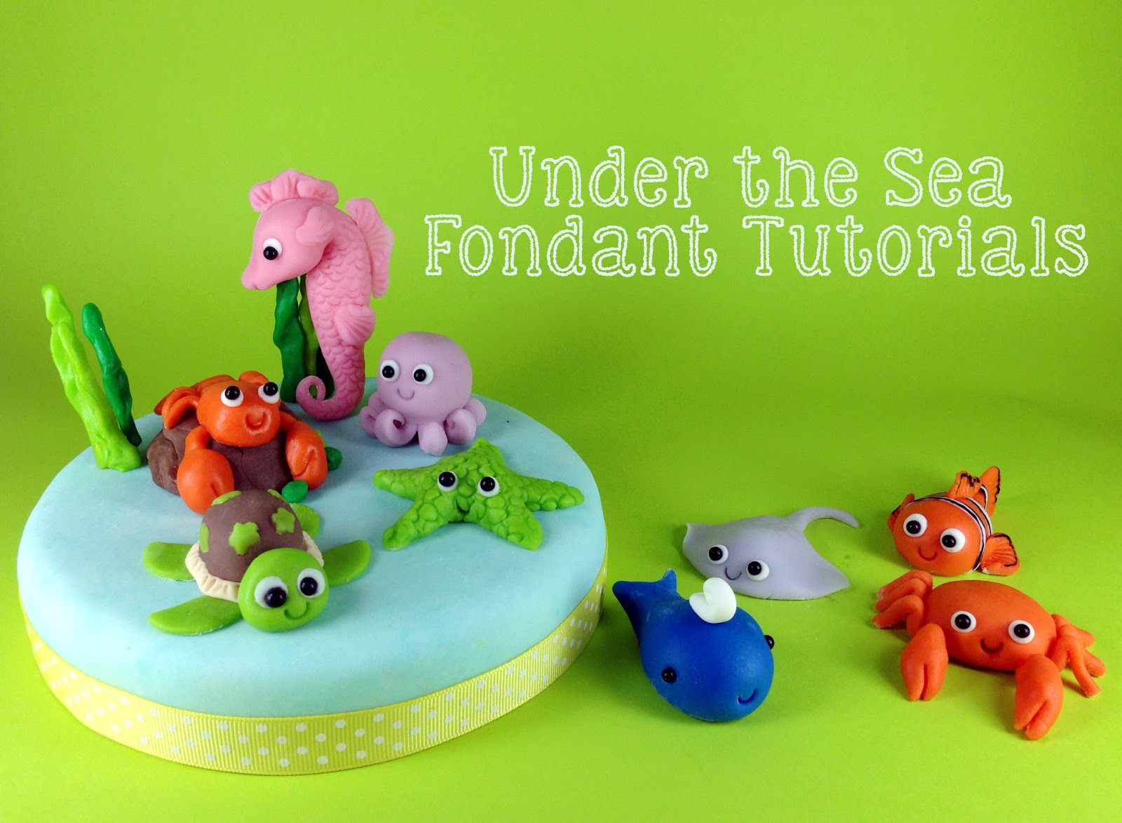 how to make fondant whales