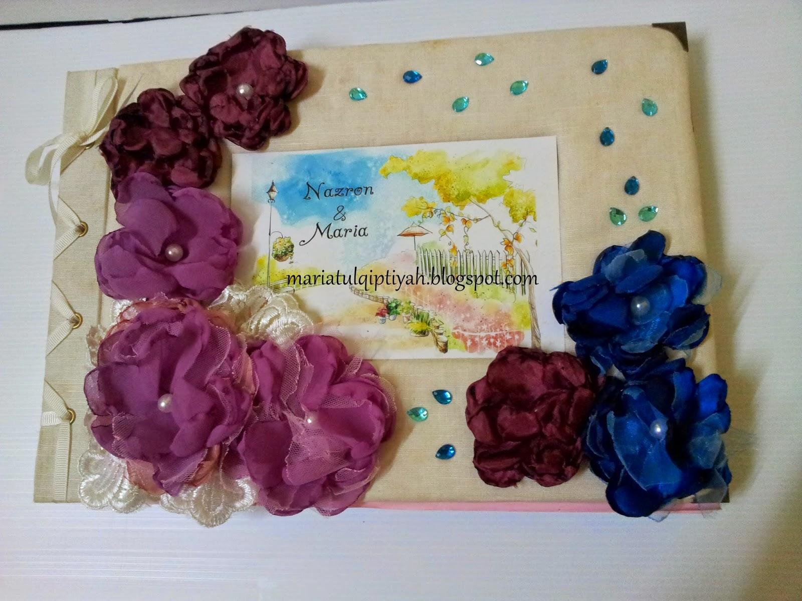 Panduan Kraf Riben dan Kertas: Buku Tamu Perkahwinan ( Wedding Guest