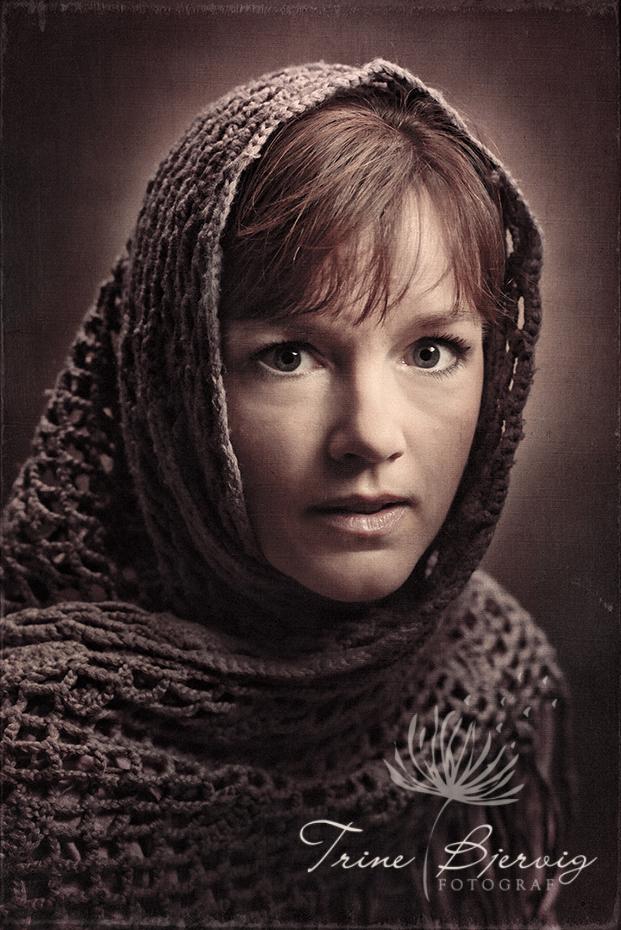 Portrett av dame - fotograf Trine Bjervig Tønsberg, vestfold