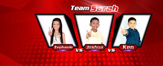 Team Sarah The Voice Battles Zephanie