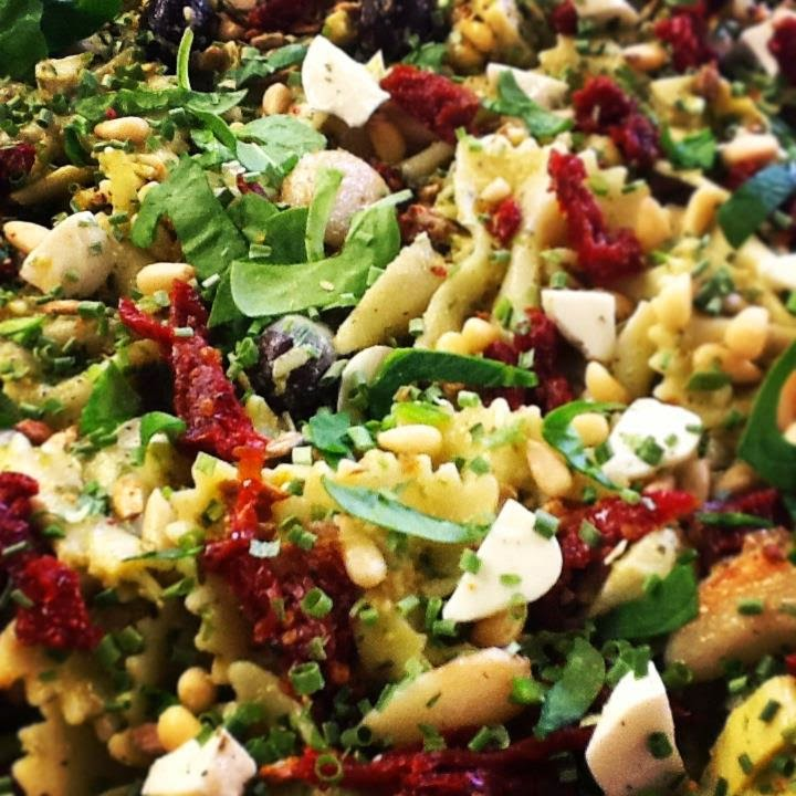 This Image Shows A Pesto Pasta Salad Prepared By Chef Kathi From Canopy Rose Catering For Legislative Luncheon At The Florida Capitol In Tallahassee