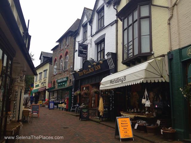 Lynton & Lynmouth, Devon, UK