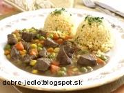 Hovädzia pečeň so zeleninou - recept