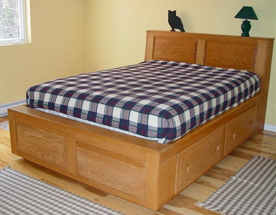 Queen Size Platform Beds With Storage