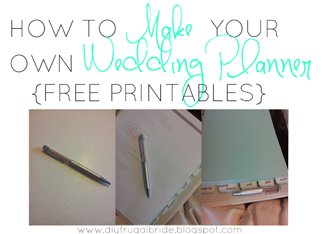 Sleepless in diy bride country celebrating how to make for Create your own planner online