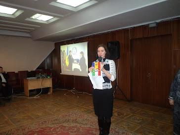 Natalia Chirilenco prezinta Ghidul la intrunirea de totalizare din 23.12.2011